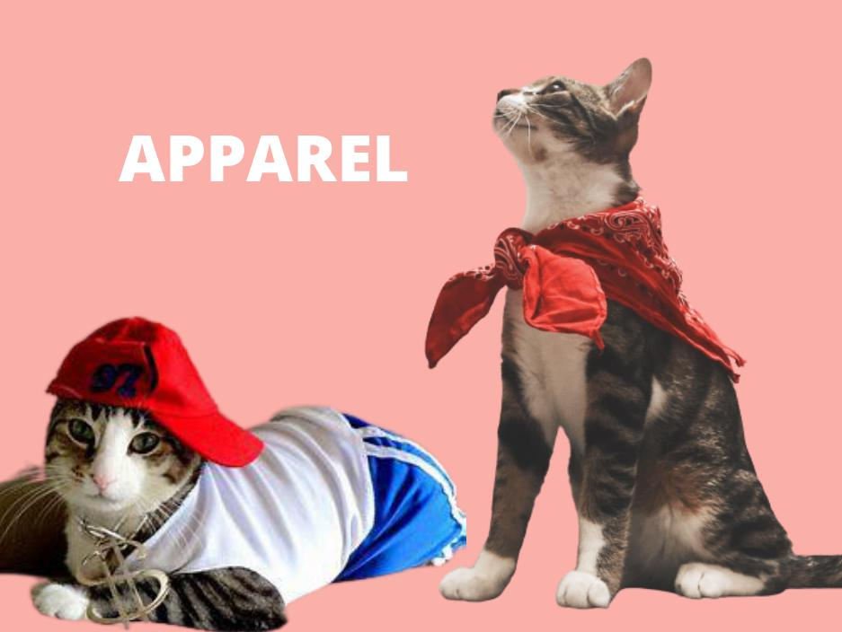 cat apparel clothing