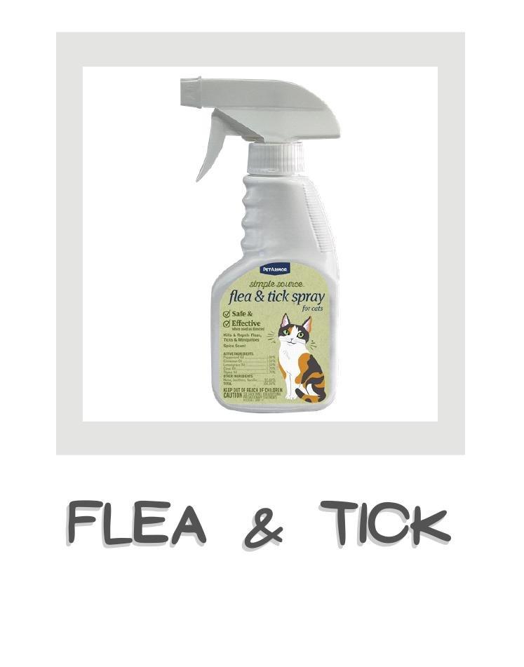 Cat flea & tick control