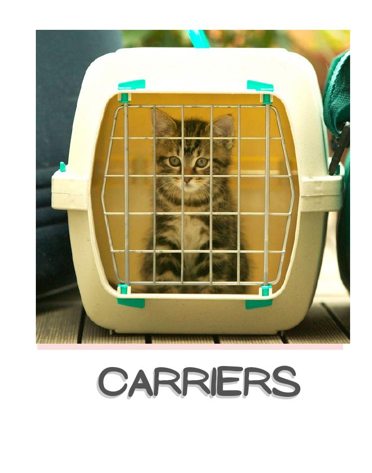 Cat carriers,strollers & travelers